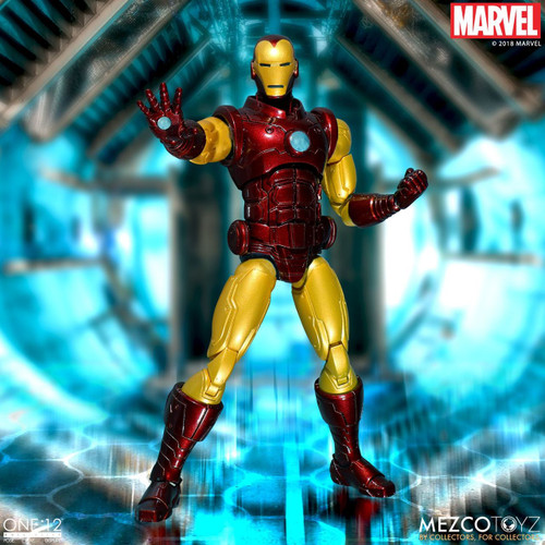 one 12 collective iron man action figure