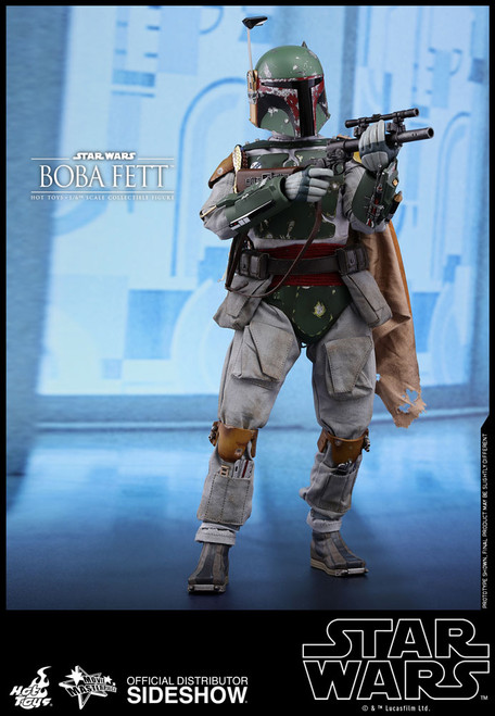 hot toys boba fett one sixth scale figure empire strikes back