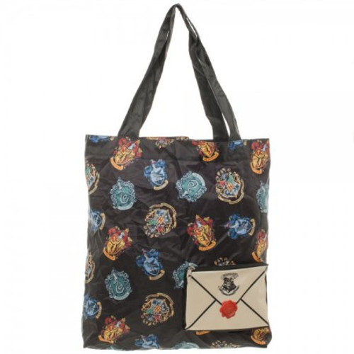 Harry Potter Crest Packable Tote