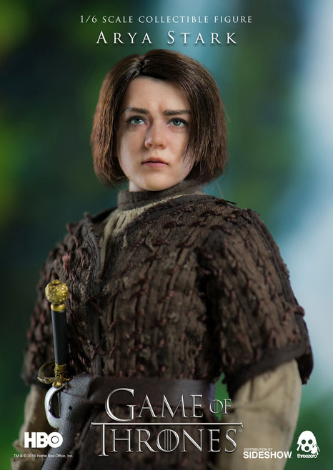 arya stark one sixth scale figure
