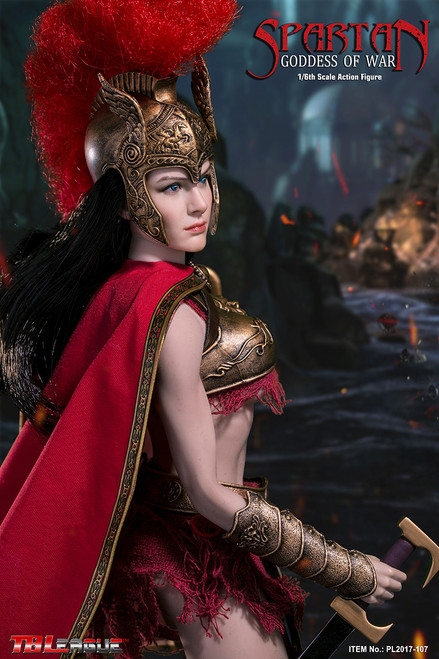 phicen spartan goddess of war