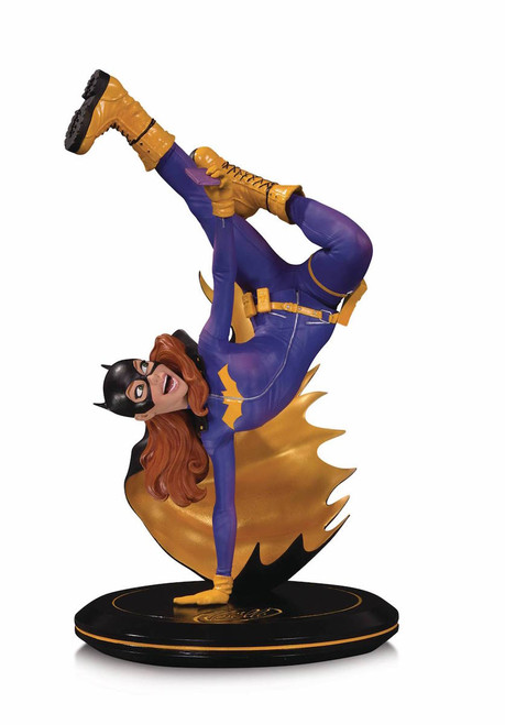dc comics cover girls batgirl by joelle jones statue