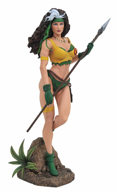 marvel gallery rogue savage land pvc statue
