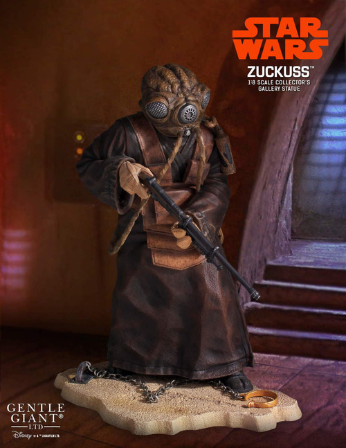 zuckuss collectors gallery statue