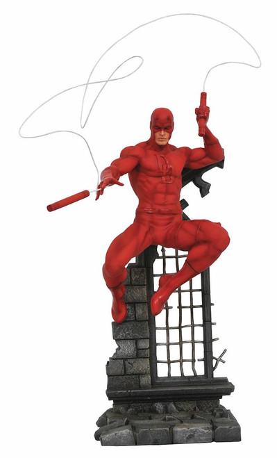 marvel gallery daredevil comic pvc statue