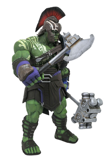 marvel select gladiator hulk action figure