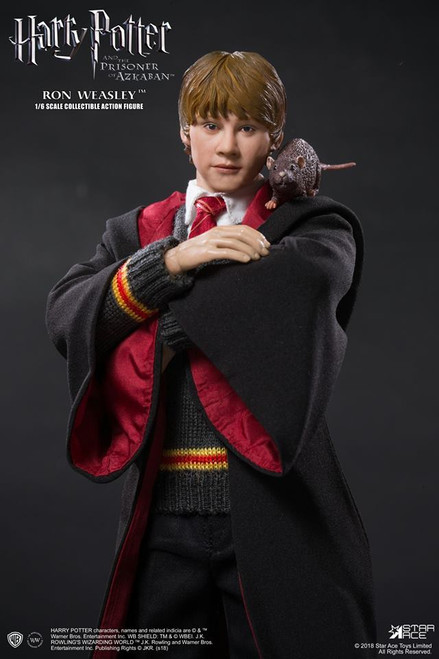 star ace harry potter prisoner of azkaban ron weasley deluxe 1/6 scale figure