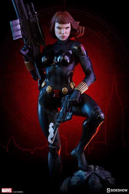 black widow premium format figure