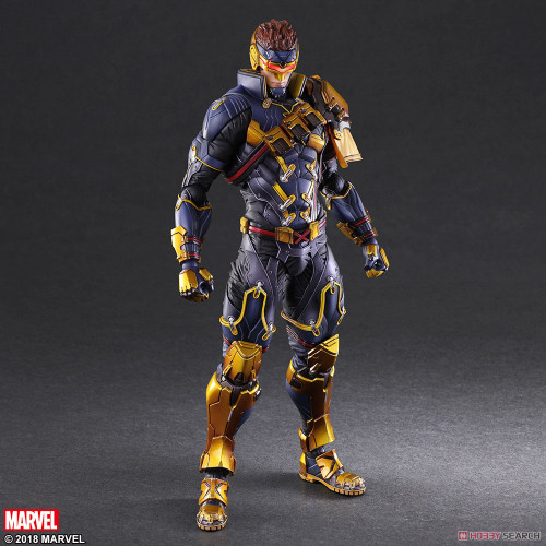 marvel play arts variant cyclops action figure