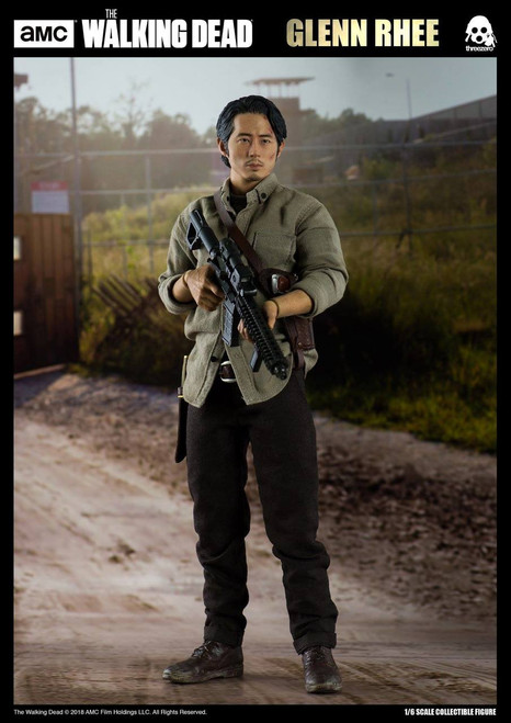 threezero walking dead glenn rhee 1/6 scale figure