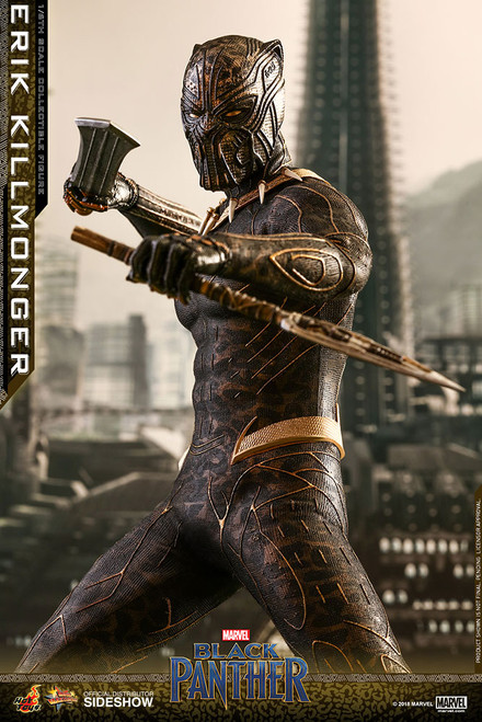 Hot Toys Erik Killmonger 1/6 Scale Figure