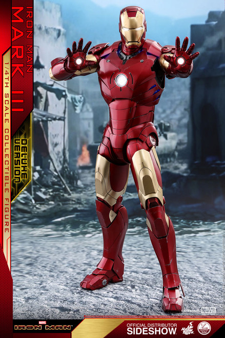 Iron Man Mark III 1:4 Scale Figure (Deluxe Version)