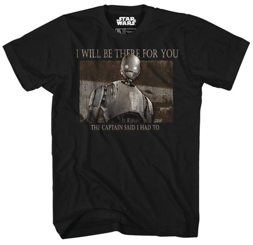 Star Wars Rogue One There for You T-Shirt - Previews Exclusive