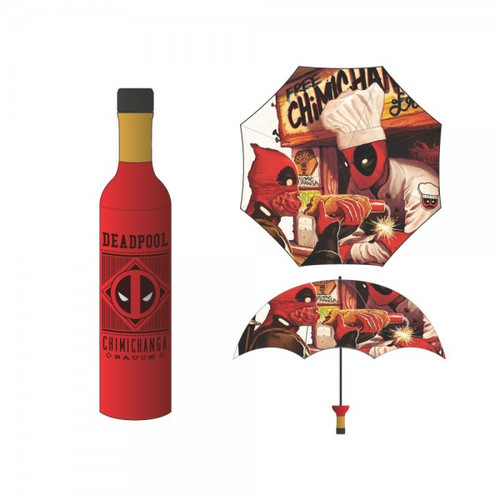 Marvel Deadpool Chimichanga Bottle Umbrella