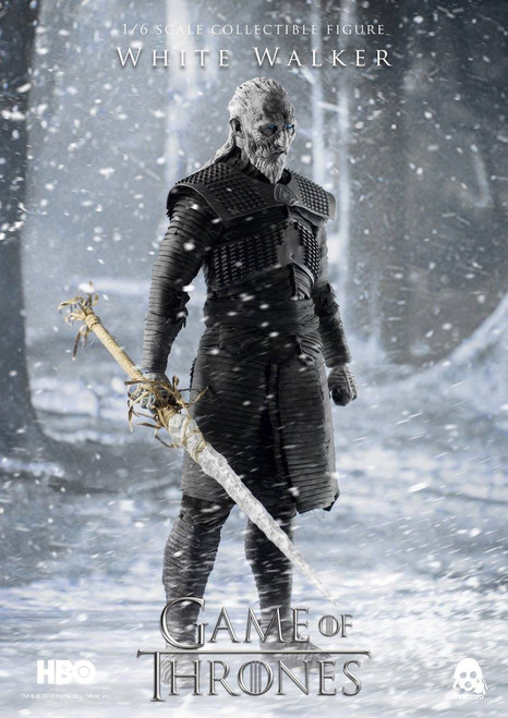 Game of Thrones White Walker 1:6 Scale Figure