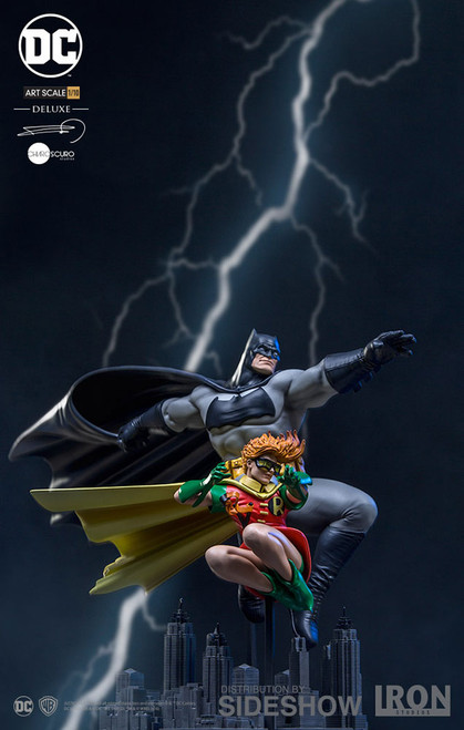 Batman and Robin Deluxe 1:10 Art Scale Statue