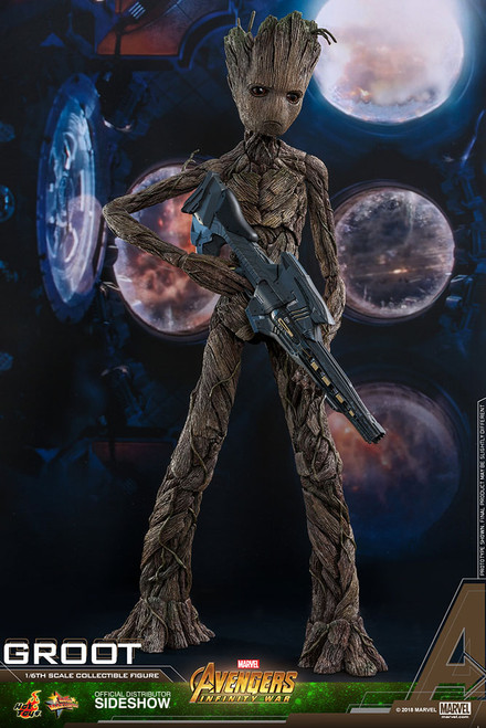 Avengers: Infinity War Groot 1:6 Scale Figure