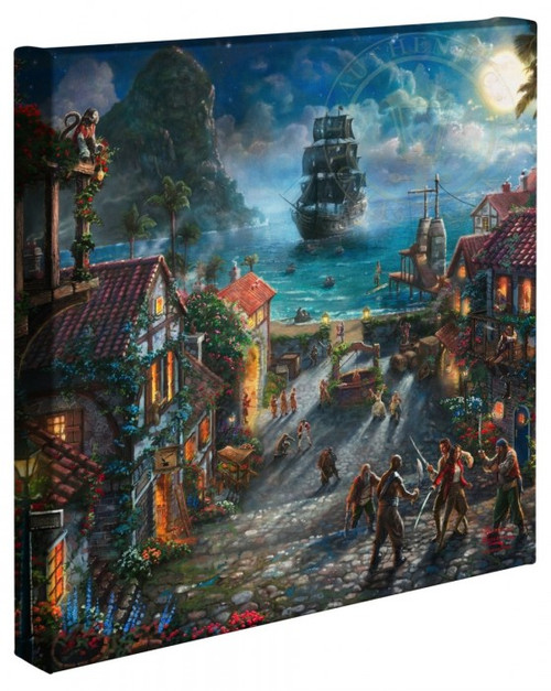 pirates of the caribbean art