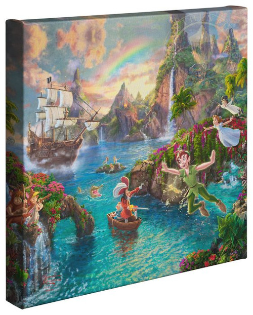 peter pan neverland thomas kincade