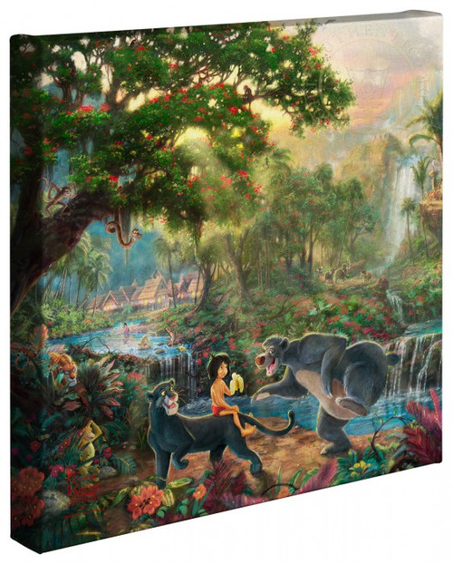 "The Jungle Book 14"" x 14"" Gallery Wrapped Canvas"