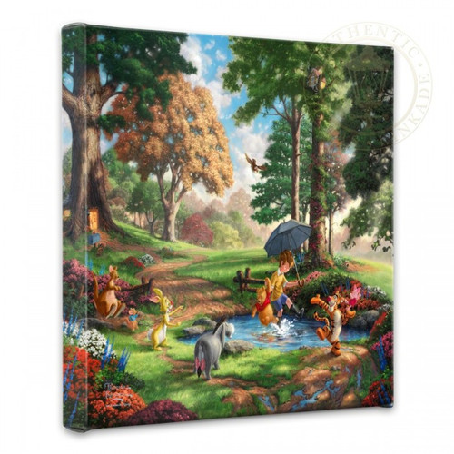 "Winnie the Pooh I 14"" x 14"" Gallery Wrapped Canvas"