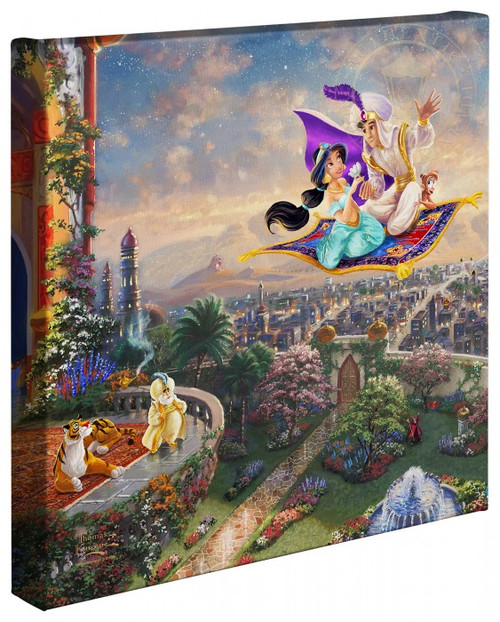 "Aladdin 14"" x 14"" Gallery Wrapped Canvas"