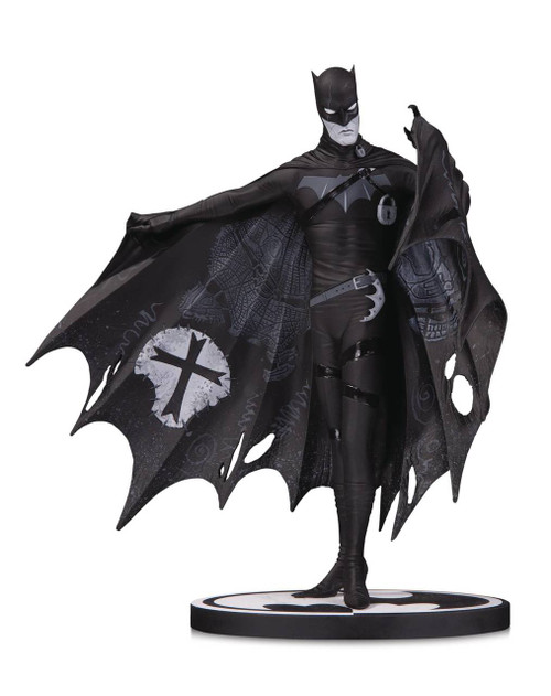 Batman Black and White Batman Statue by Gerard Way