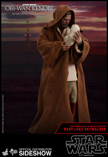 Obi-Wan Kenobi (Deluxe Version) 1:6 Scale Figure