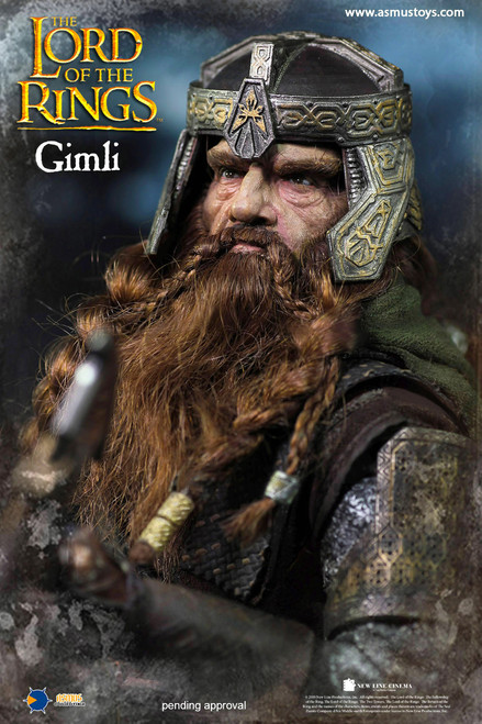 Lord of the Rings Gimli 1:6 Scale Figure