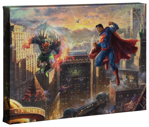 superman man of steel thomas kinkade