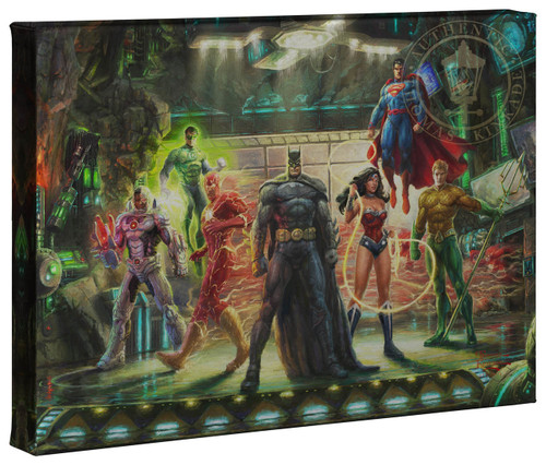justice league thomas kinkade