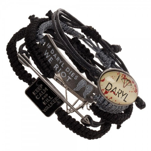 Walking Dead Bracelet Set