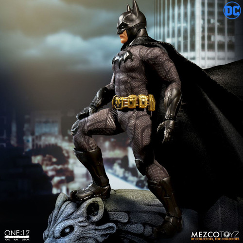 mezco one 12 collective batman sovereign knight figure