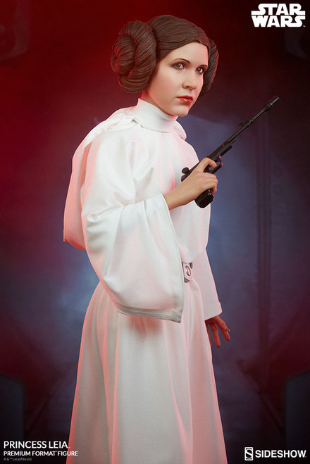 princess leia premium format figure sideshow collectibles