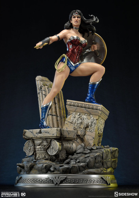 wonder woman new 52 statue prime 1 sideshow collectibles