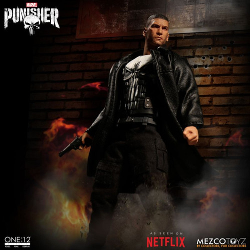 mezco one 12 collective punisher figure netflix