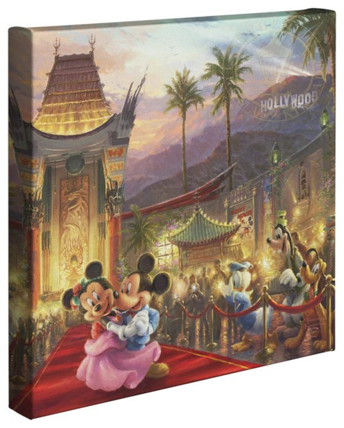 mickey minnie in hollywood thomas kinkade