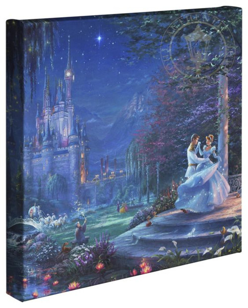 cinderella dancing in the starlight thomas kinkade