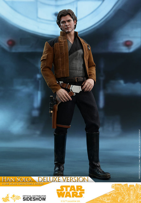 Solo: A Star Wars Story Han Solo Deluxe Version 1:6 Scale Figure