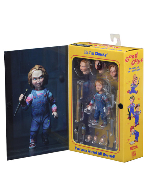neca ultimate chucky 7 inch action figure