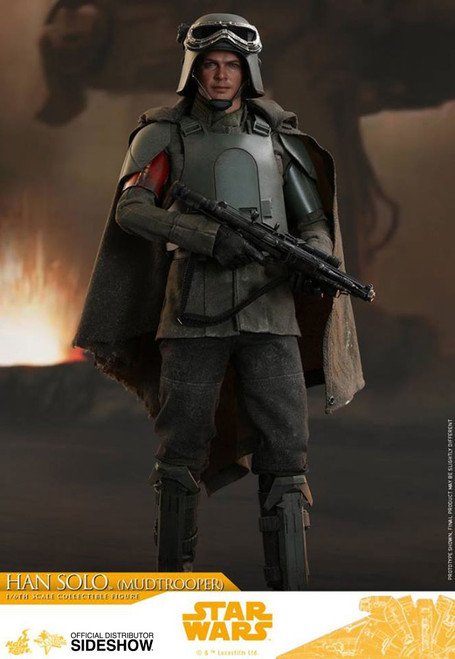 hot toys han solo mudtrooper one sixth scale figure