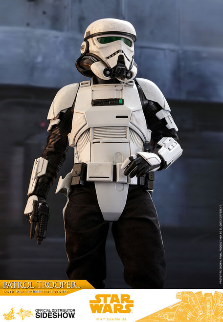 hot toys solo star wars story patrol trooper one sixth scale figure