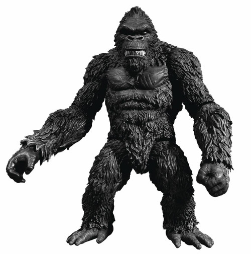 mezco kong skull island previews exclusive black white version