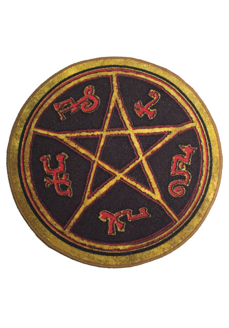Supernatural Devil's Trap Doormat