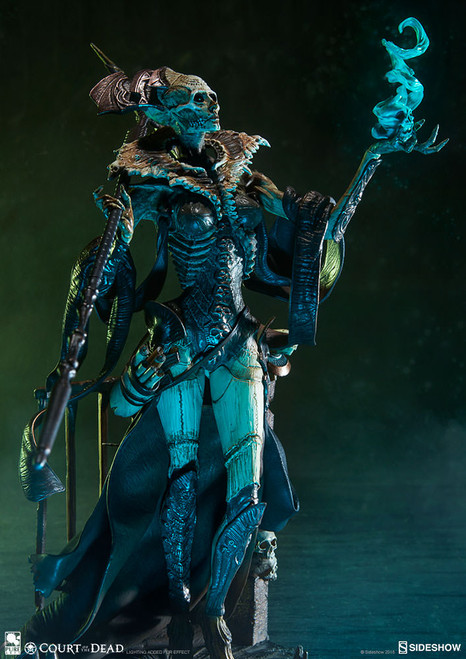 Court of the Dead Xiall (Osteomancer's Vision) Statuette