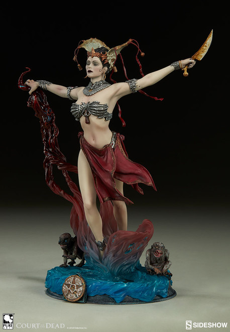 Court of the Dead Gethsemoni (Queen's Conjuring) Statuette