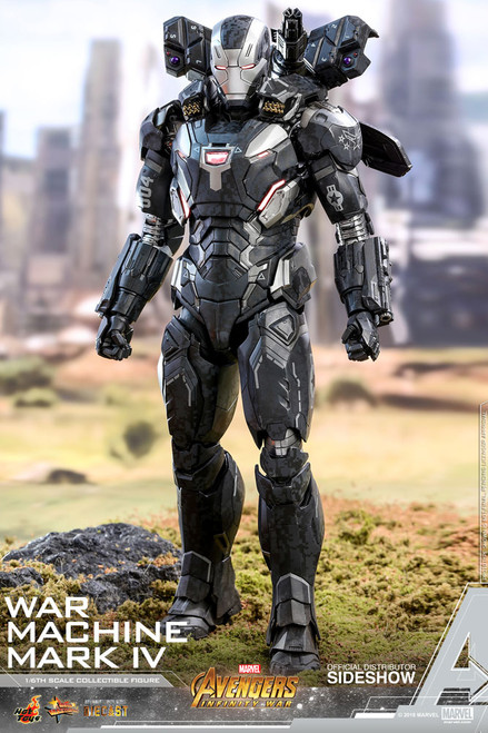 Avengers: Infinity War Diecast War Machine Mark IV 1:6 Scale Figure