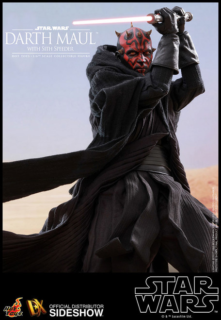 Star Wars: Episode I Darth Maul with Sith Speeder 1:6 Scale Figure