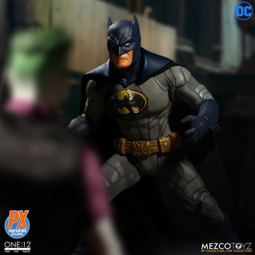 One:12 Collective DC Previews Exclusive Sovereign Knight Batman Blue Figure