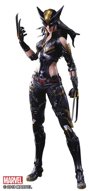 Marvel Universe Variant Play Art Kai X-23 Action Figure